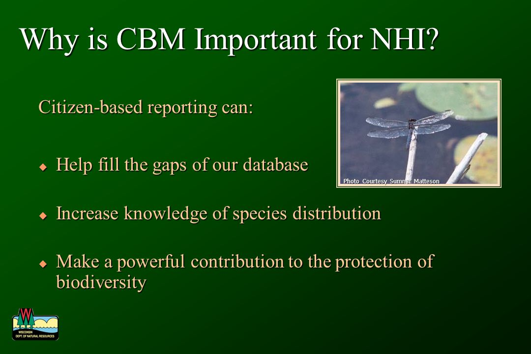 Why is CBM Important for NHI.