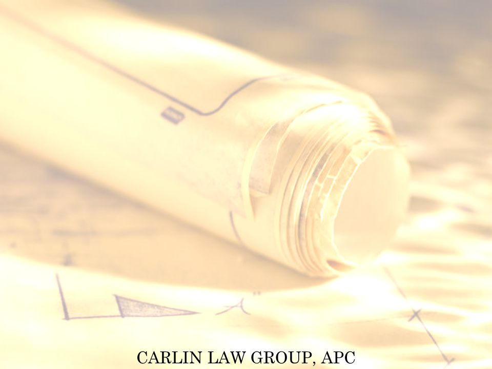 CARLIN LAW GROUP, APC Contractors License Bond Complaint Claimant must file suit within 2 years after expiration of license period during which the violation, act or omission occurred.