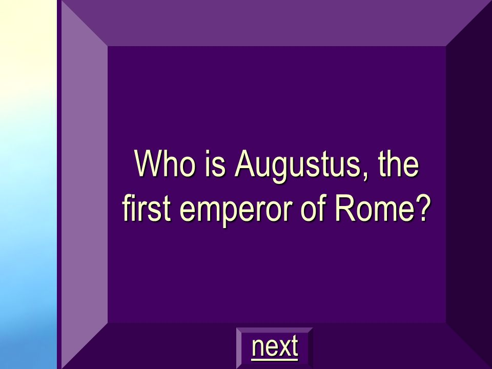This Roman emperor provided security for his empire by building a professional army of Roman citizens.