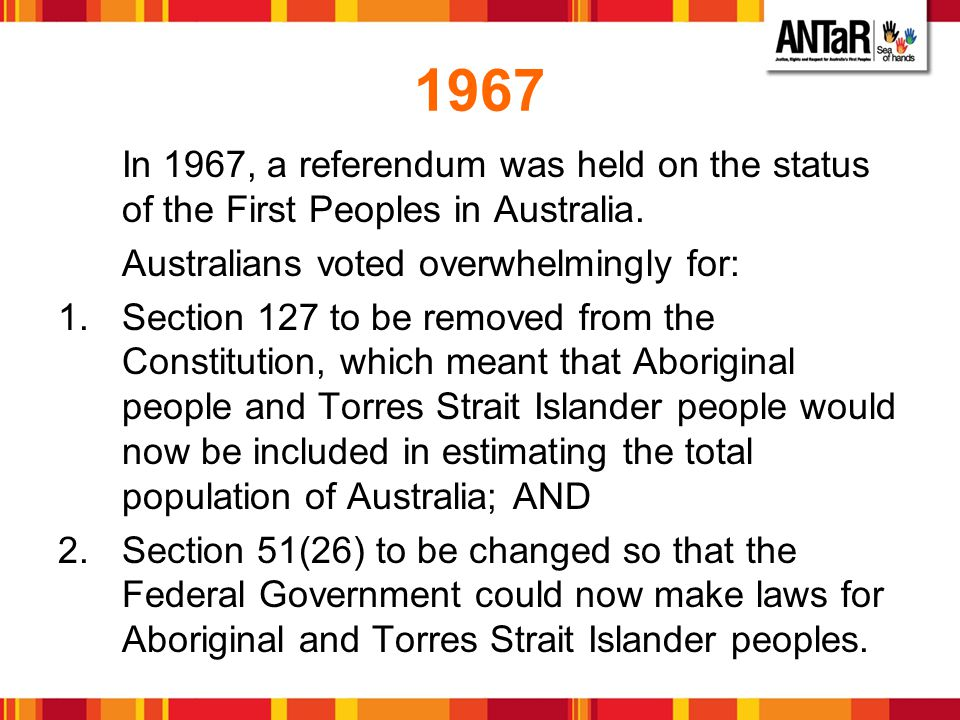 Why is Constitutional Change so important.