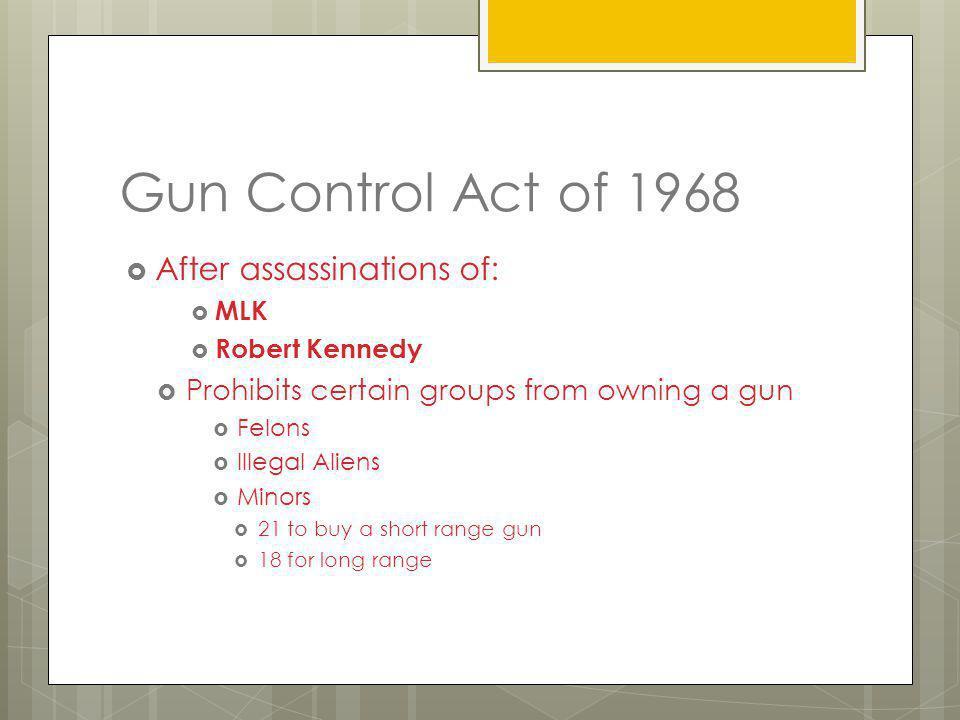 Guns Lawful v. Illegal gun owning Second Amendment