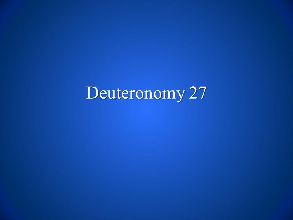 Deuteronomy 27