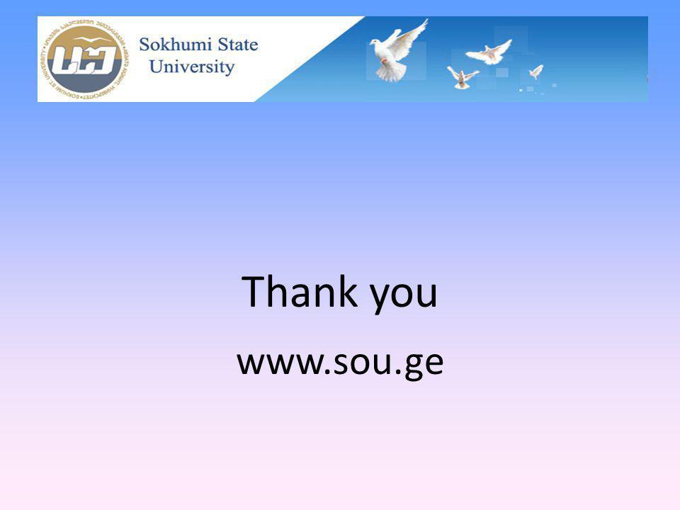 Thank you www.sou.ge