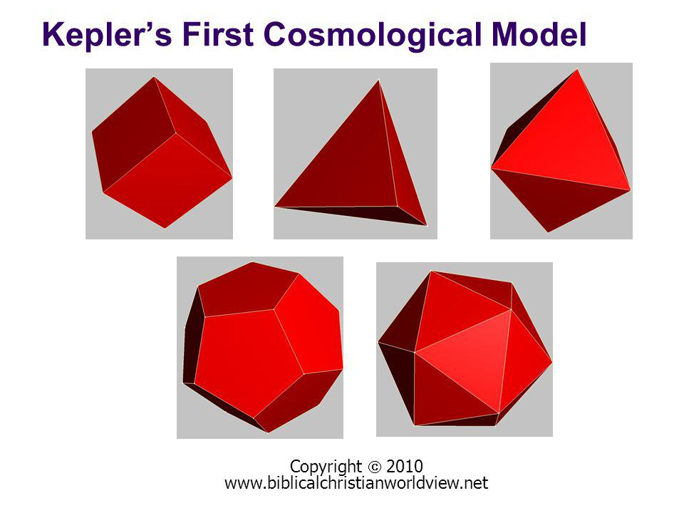 Keplers First Cosmological Model