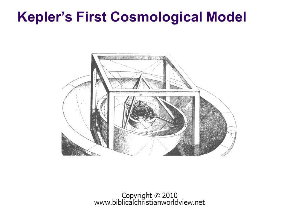 Copyright 2010 www.biblicalchristianworldview.net Keplers First Cosmological Model