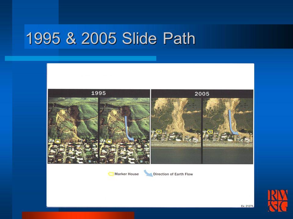 1995 & 2005 Slide Path