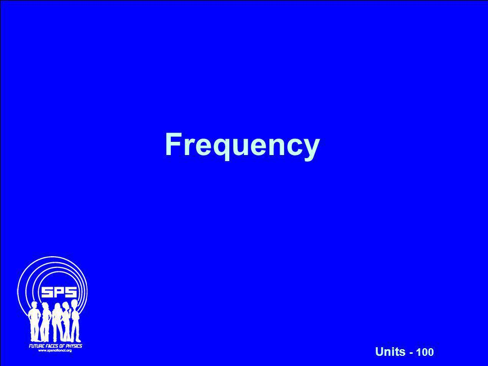 Frequency Units - 100