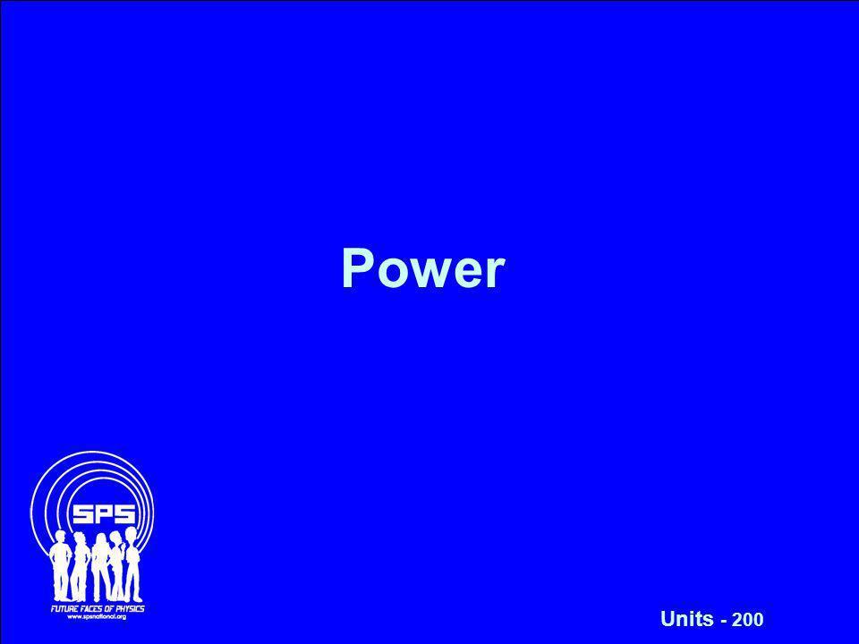 Power Units - 200