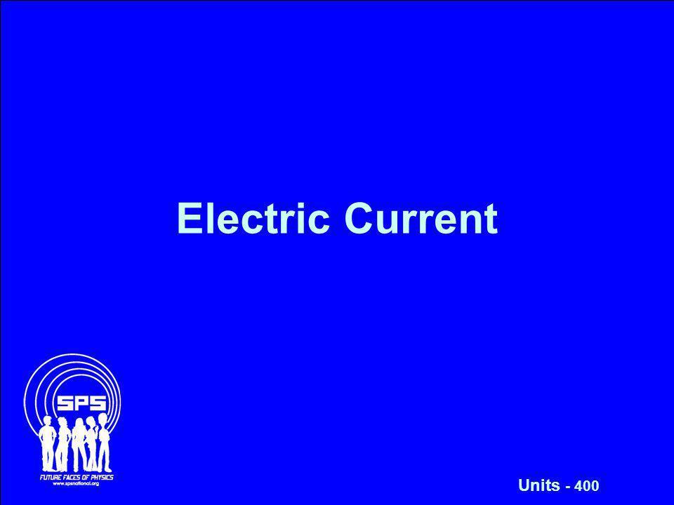Electric Current Units - 400