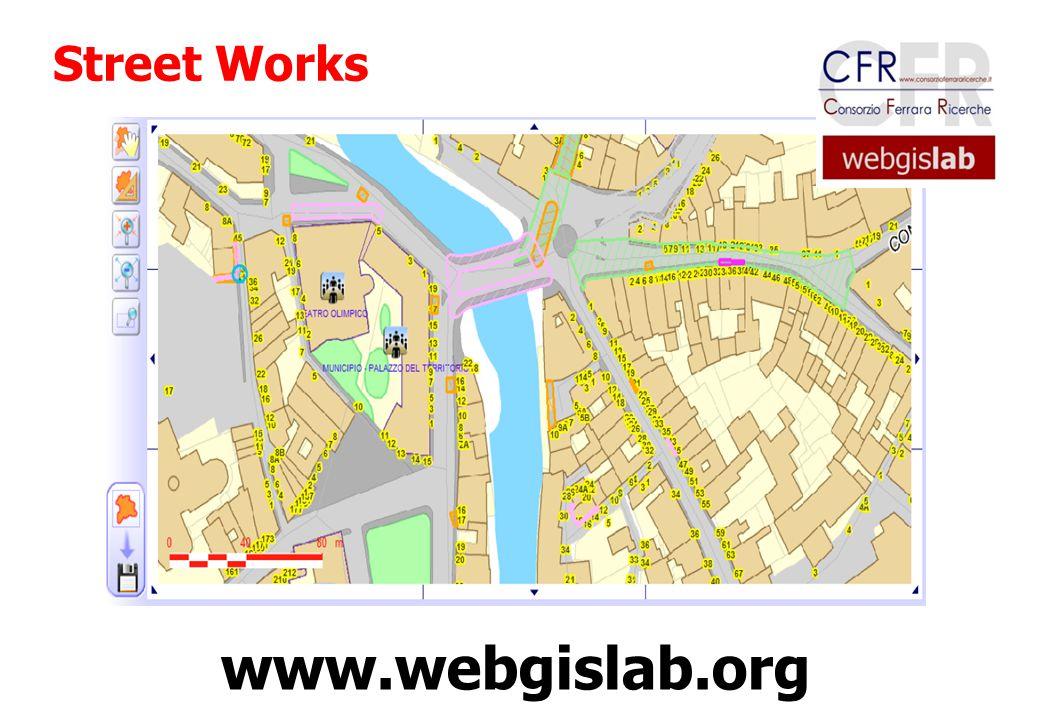 Street Works www.webgislab.org