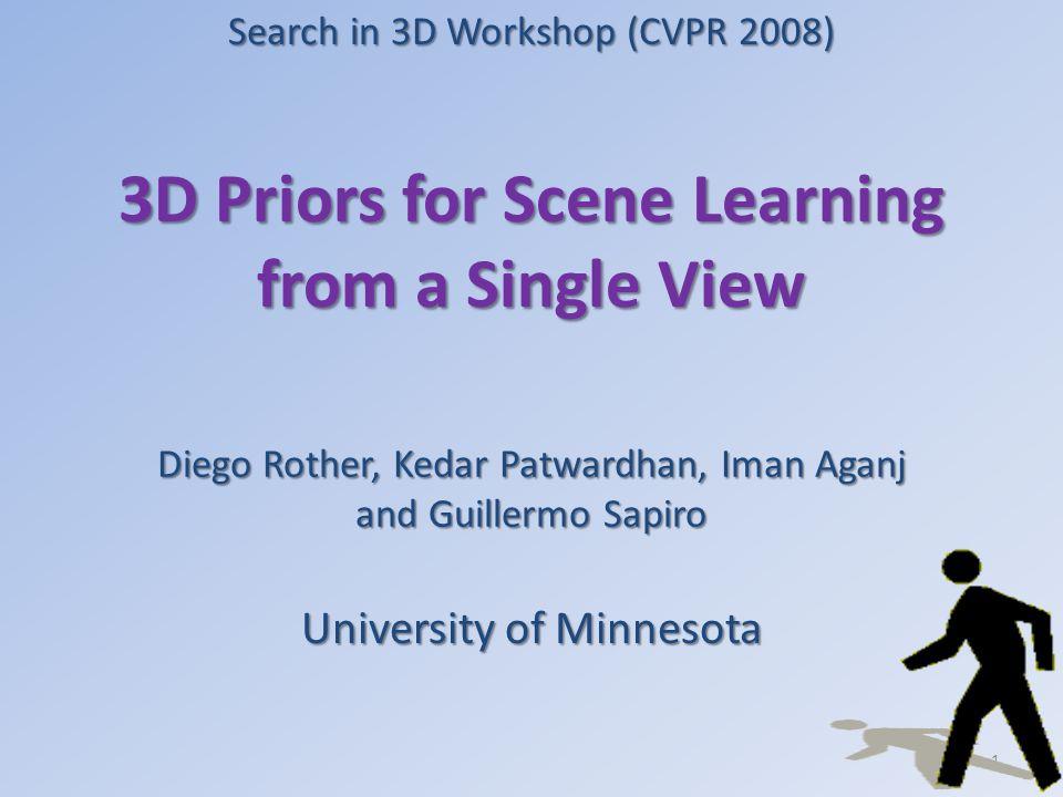 Trajectory unregularized Scene Parameters F1 Likelihood G1G1 12 F1 Likelihood G2G2 F1 Likelihood G3G3