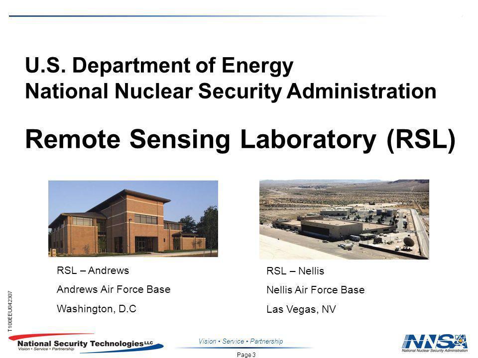 Page 3 T100EEU042307 Vision Service Partnership U.S.
