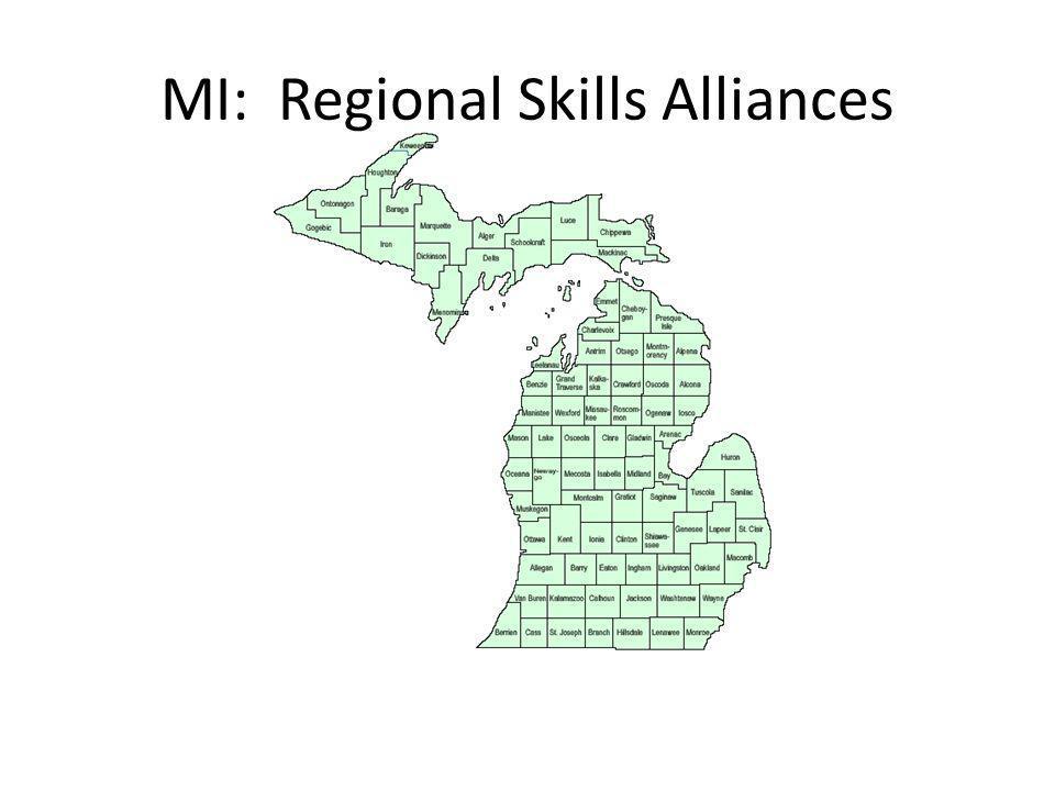 MI: Regional Skills Alliances