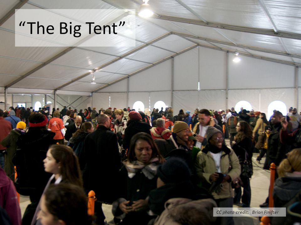 The Big Tent CC photo credit: Brian Finifter