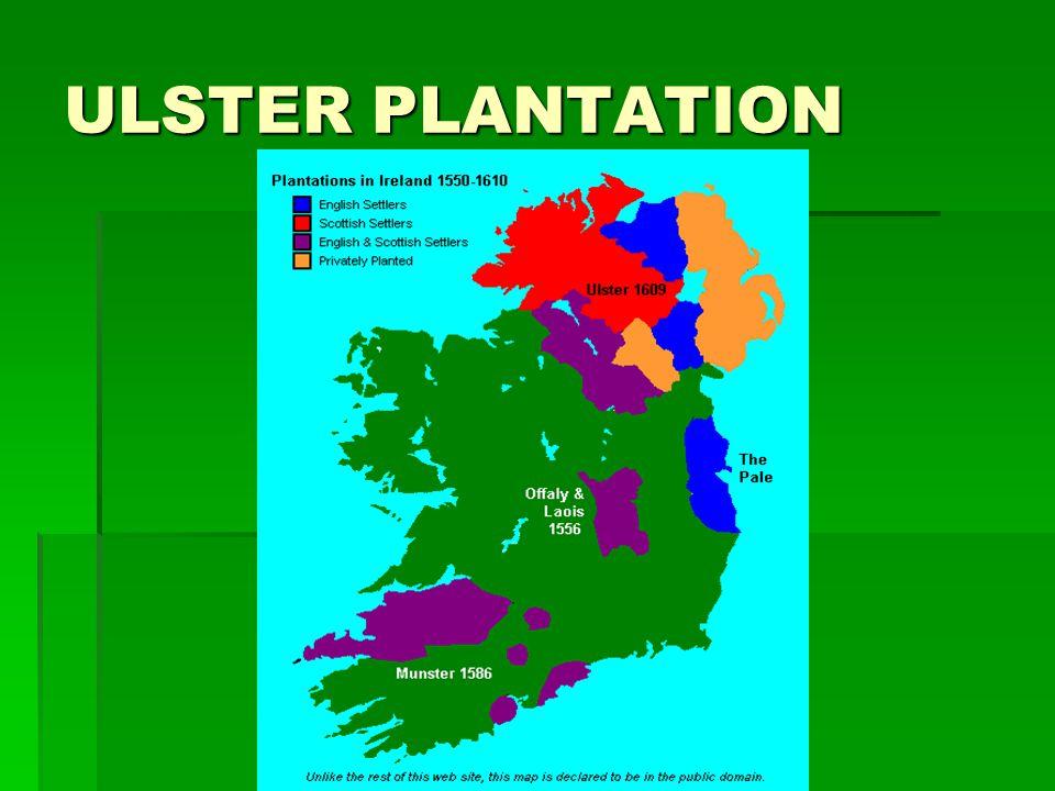 ULSTER PLANTATION