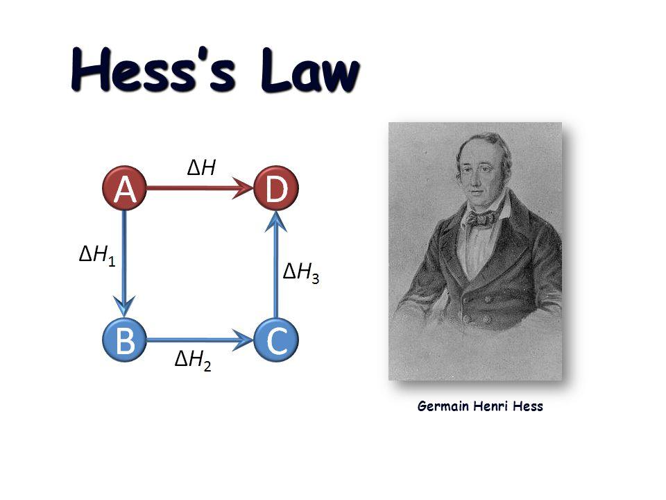 Hesss Law Germain Henri Hess