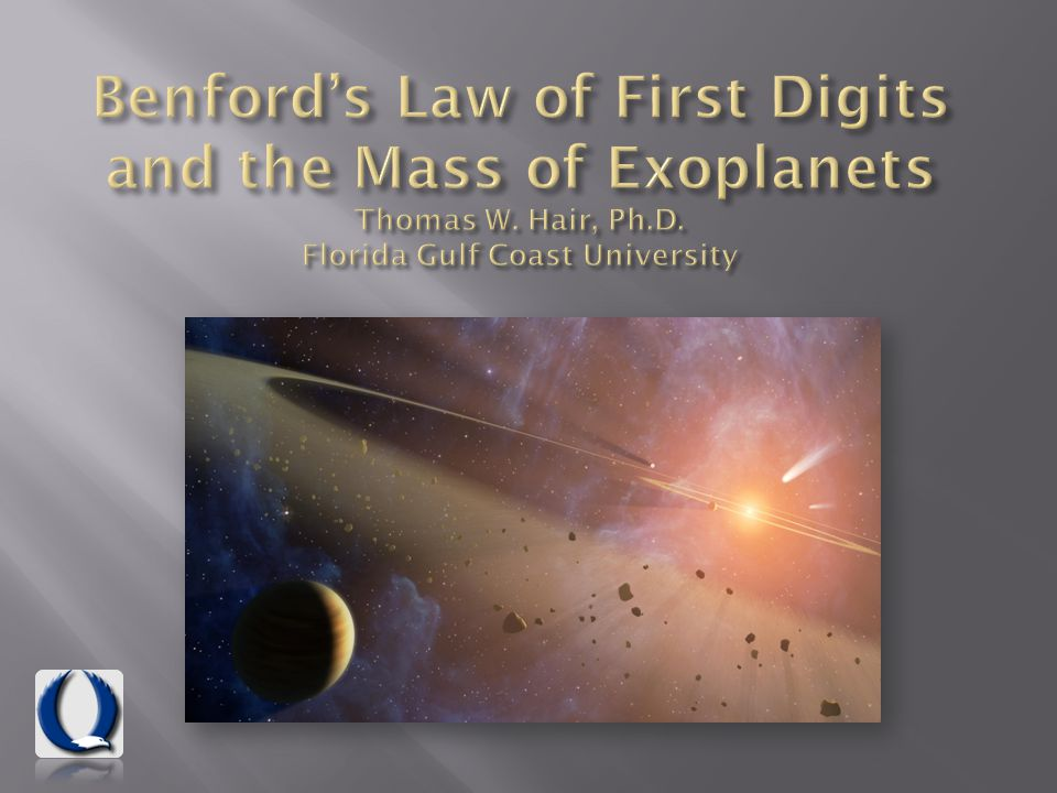 Benfords Law refers to the frequency distribution of first digits in many natural and human-constructed sources of data.