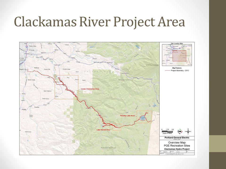 Clackamas River Project Area