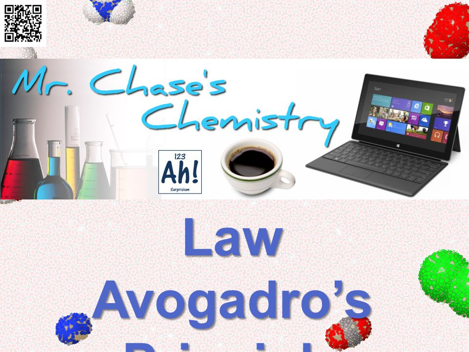 Combined Gas Law Avogadros Principle