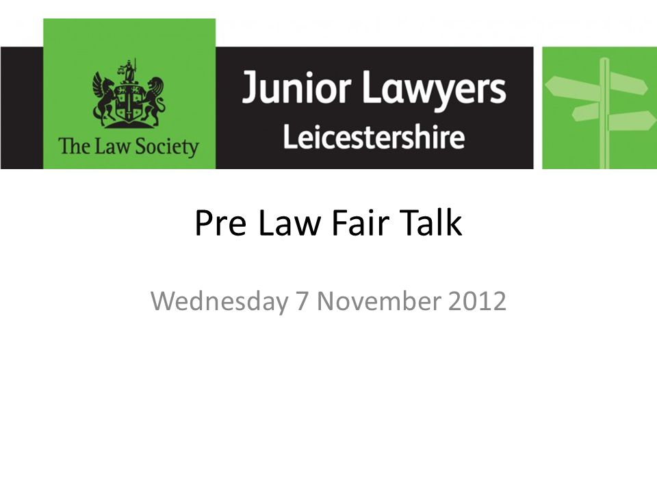 Law Fair Tips Who is there from the Firm Selective questioning
