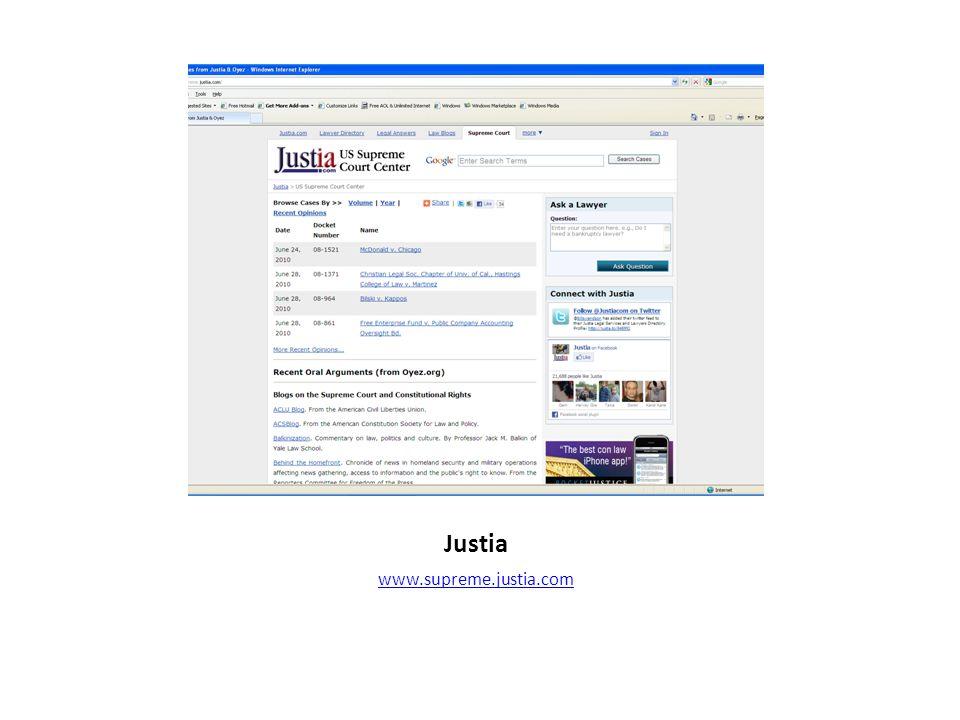 Justia www.supreme.justia.com