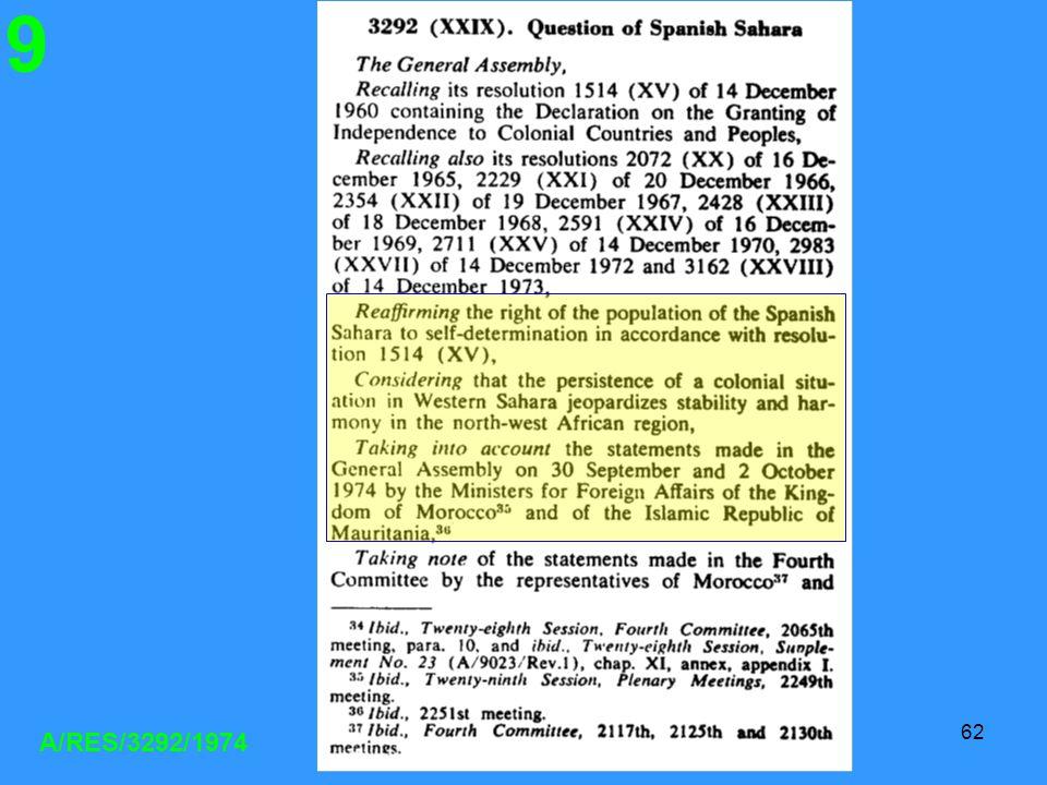 CRM-MPL62 A/RES/3292/1974 9