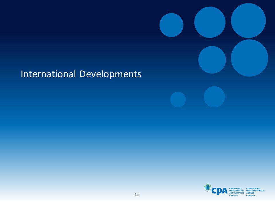 International Developments 14