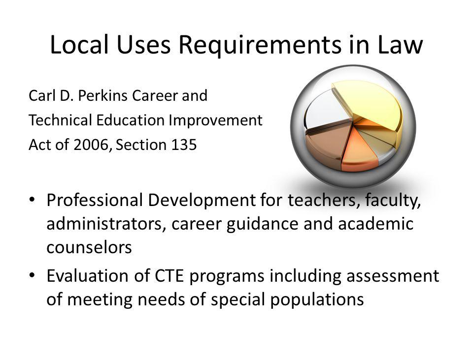 Local Uses Requirements in Law Carl D.