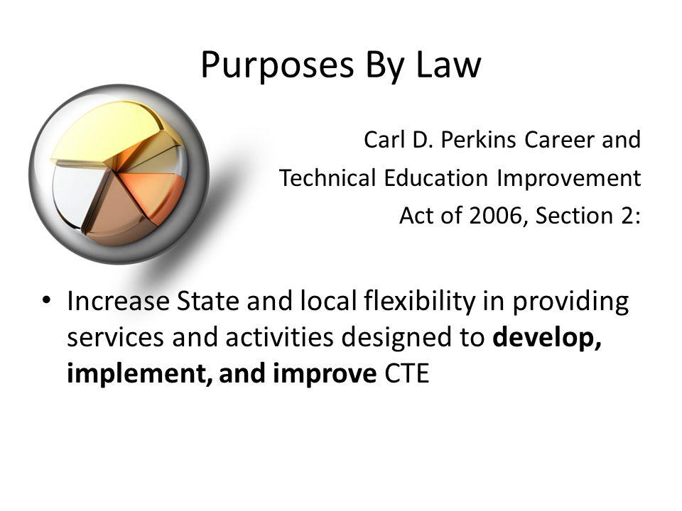 Purposes By Law Carl D.