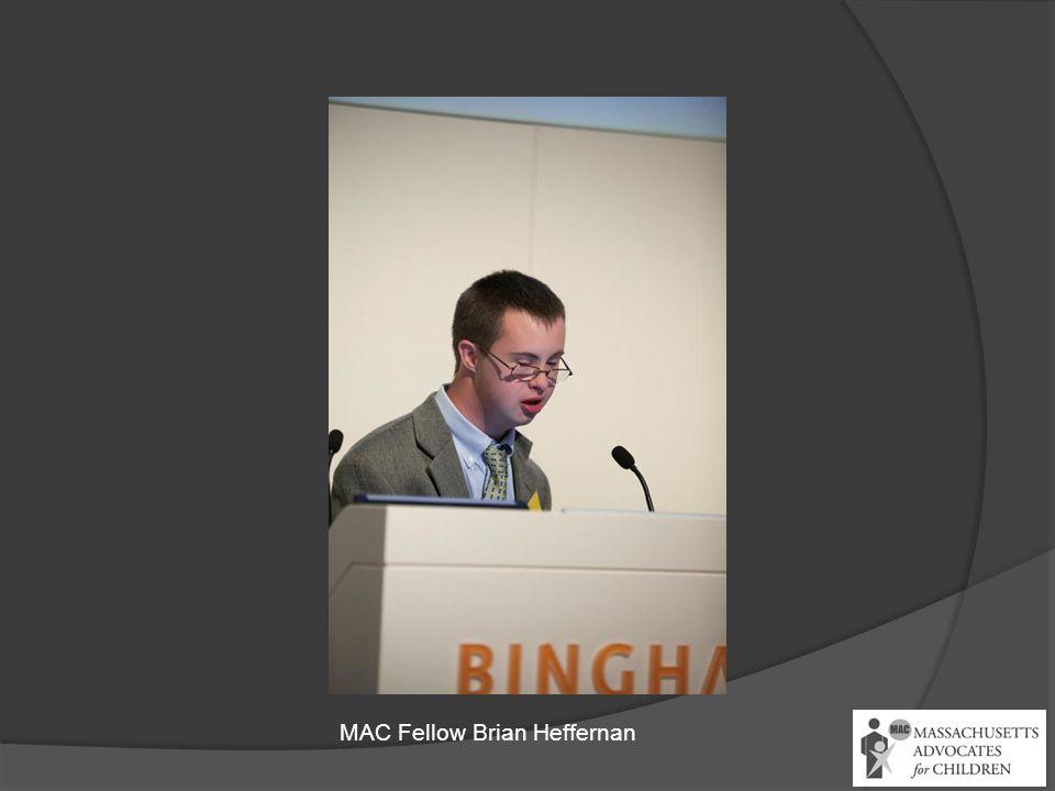 MAC Fellow Brian Heffernan