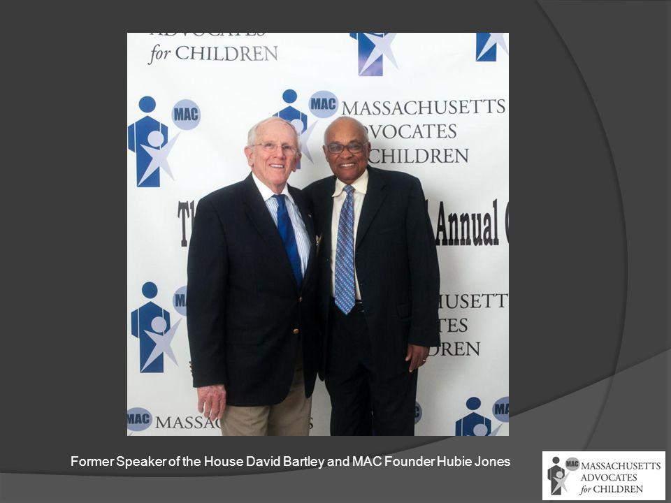 Former Speaker of the House David Bartley and MAC Founder Hubie Jones