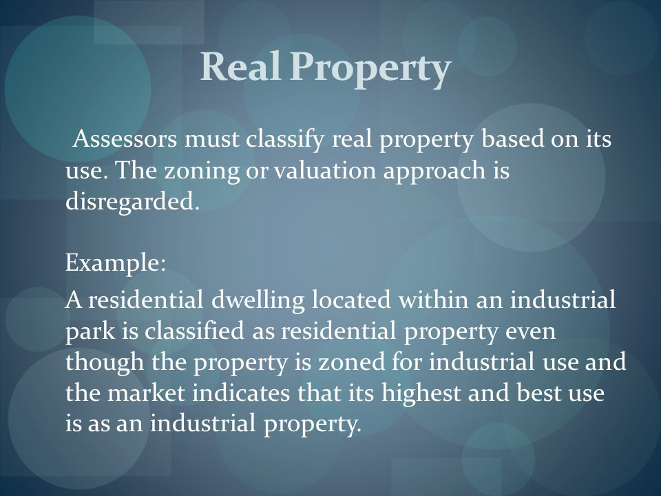 Personal Property Personal property is coded based on the legal entity of the assessed owner, i.e., individual, partnership or corporation type, not use.