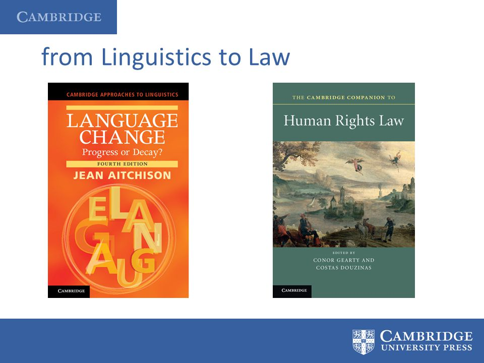 from Linguistics to Law
