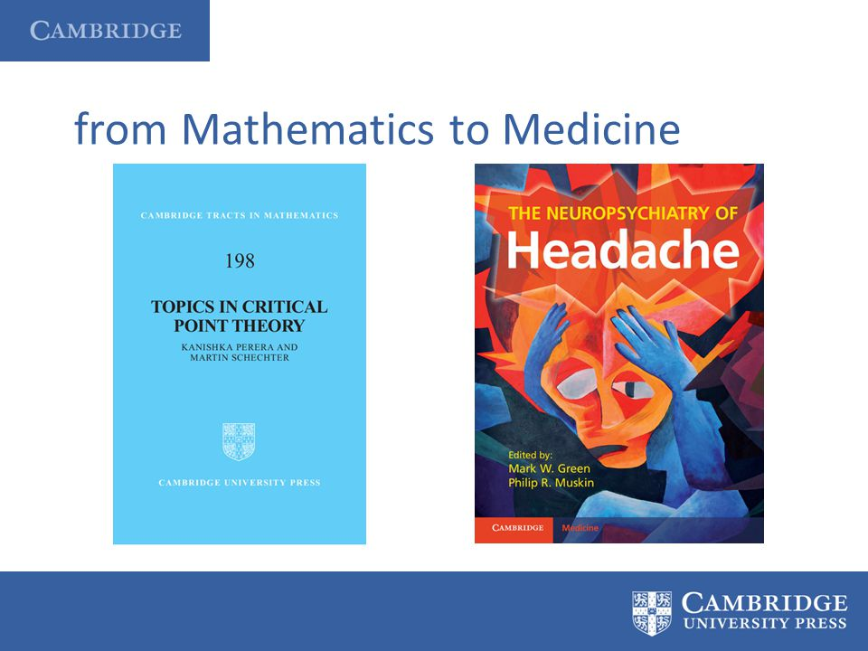 from Mathematics to Medicine