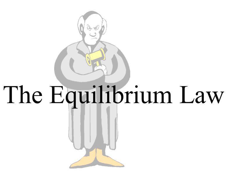 The Equilibrium Law