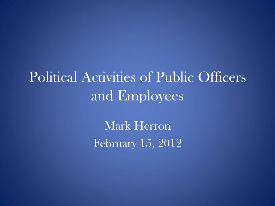 Mark Herron February 15, 2012