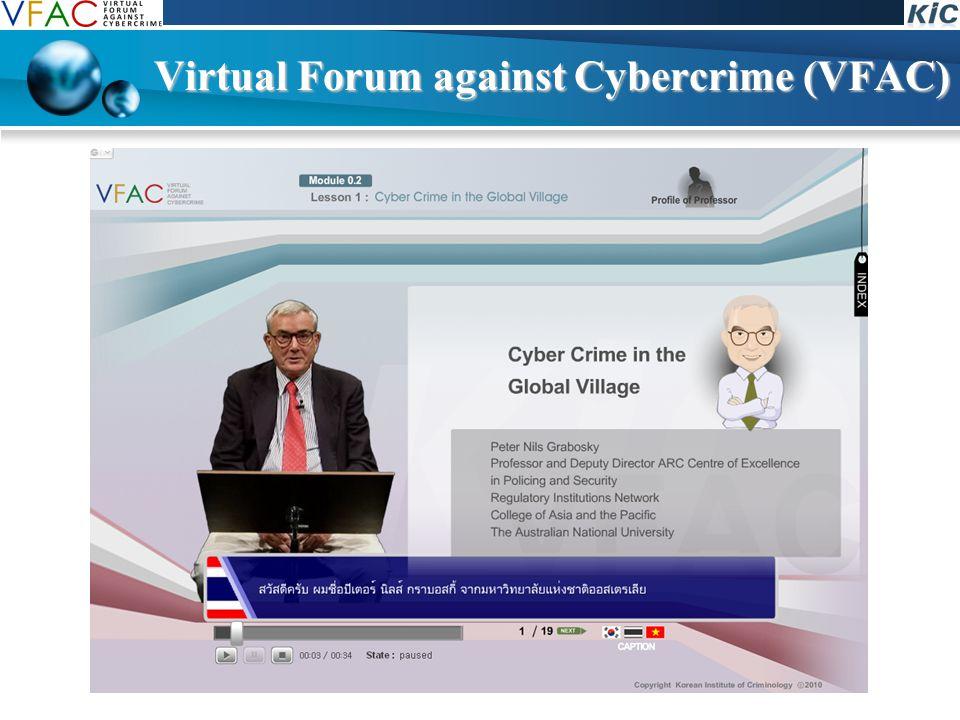Virtual Forum against Cybercrime (VFAC)