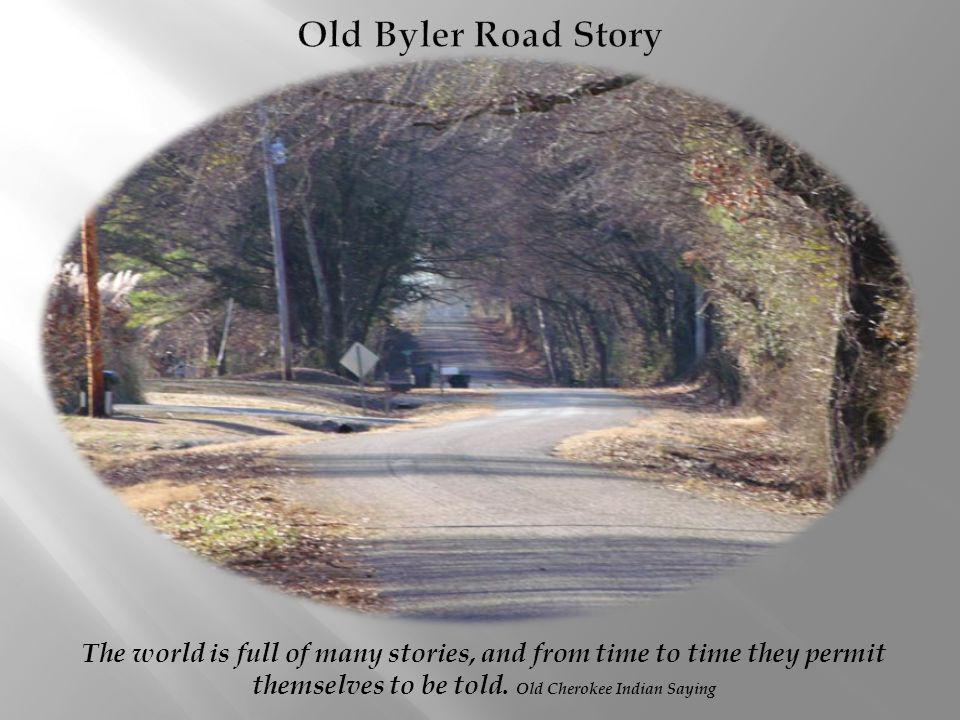The world is full of many stories, and from time to time they permit themselves to be told.