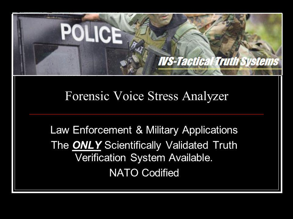 Director of Operations IVS-Tactical Truth Systems Captain John P.