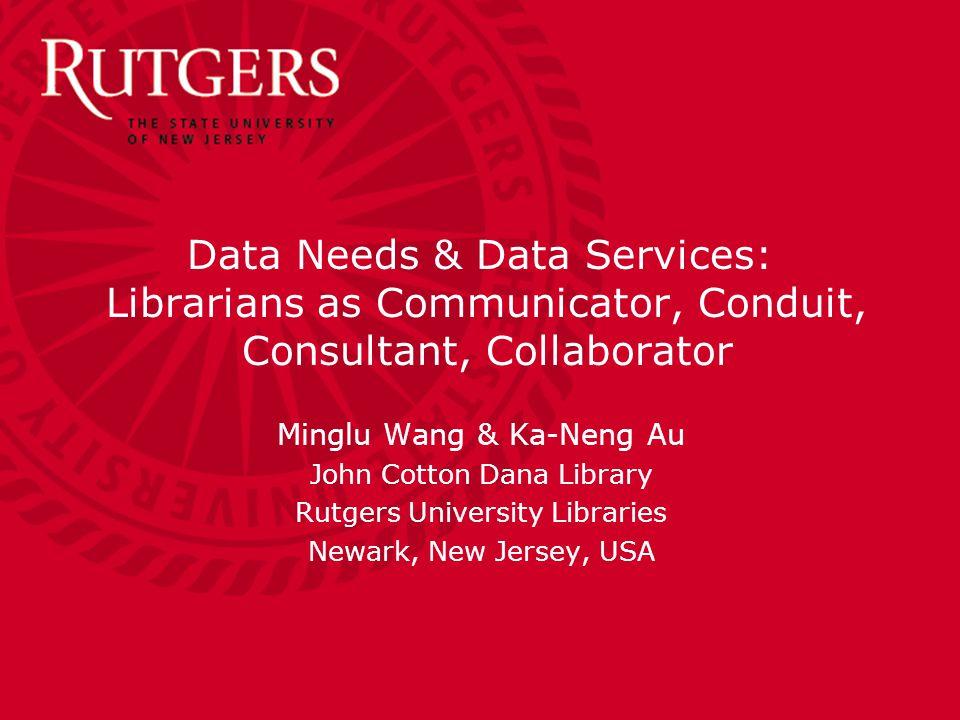Rutgers University Libraries A-LIEP 2011 QUESTIONS.