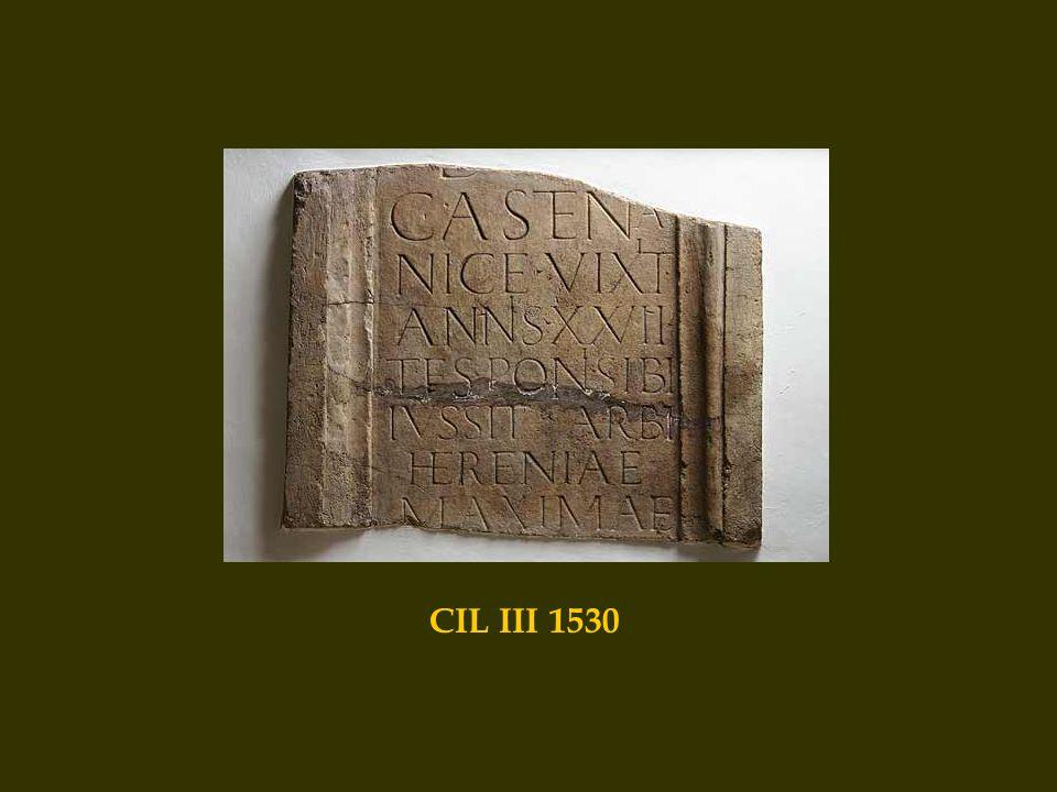 CIL III 1530