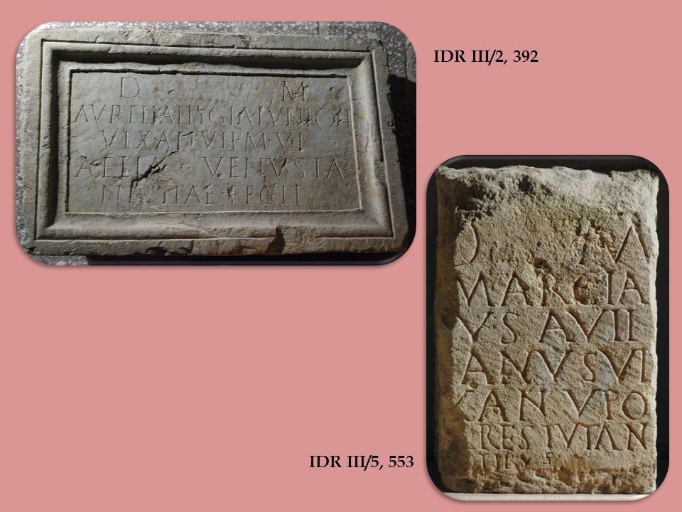 CIL III 1246 (drawing after Marsili)