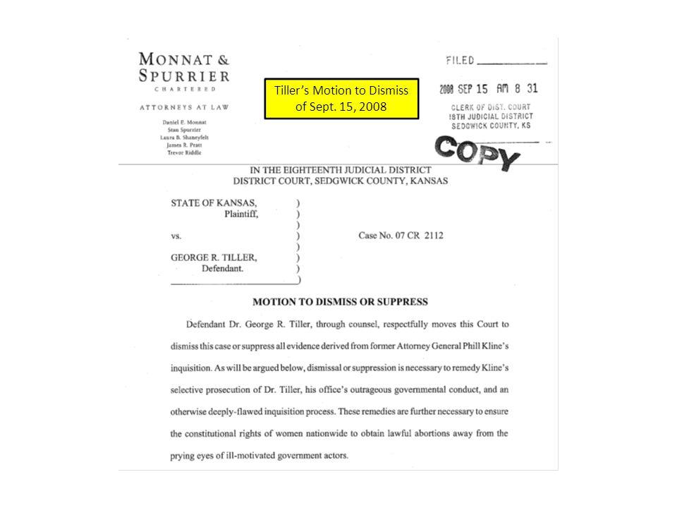 In re Kline Formal Complaint of Jan. 19, 2010