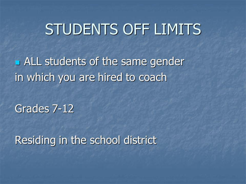 DEFINITIONS SUMMER SUMMER SCHOOL YEAR SCHOOL YEAR IN-SEASON IN-SEASON OUT-OF-SEASON OUT-OF-SEASON