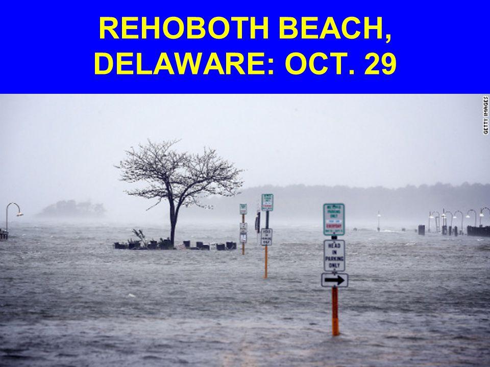 REHOBOTH BEACH, DELAWARE: OCT. 29