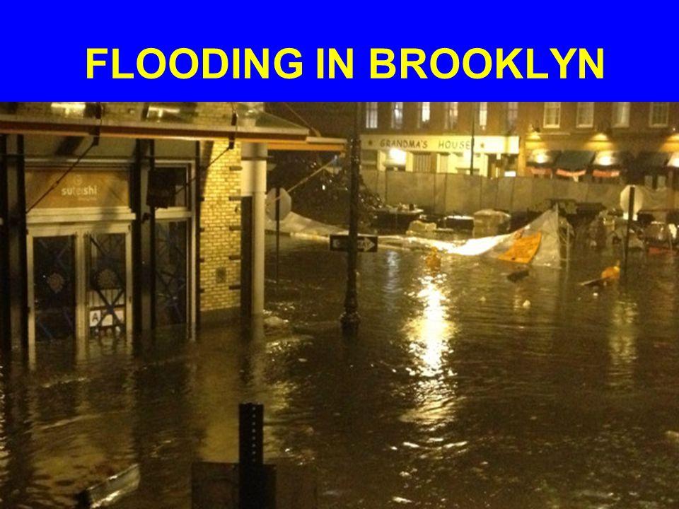 FLOODING IN BROOKLYN