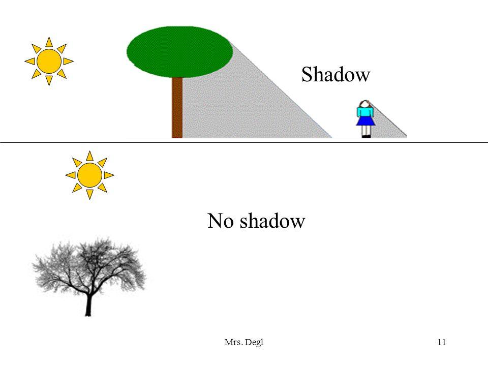 Mrs. Degl11 Shadow No shadow
