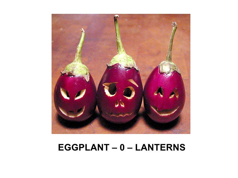 EGGPLANT – 0 – LANTERNS