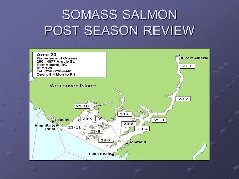 SOMASS SALMON POST SEASON REVIEW