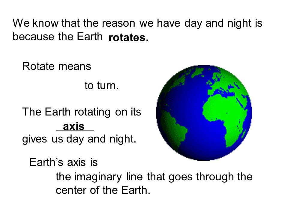 But guess what.Rotating isnt the only way the Earth moves in space.